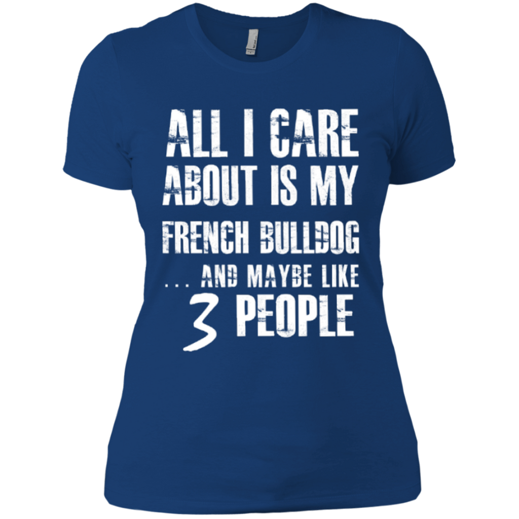 3 People Frenchie Fitted Tee