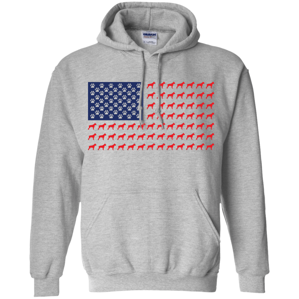 American Boxer Pullover Hoodie
