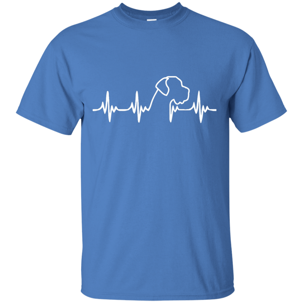 Great Dane Heartbeat Uncropped Ultra Cotton T-Shirt