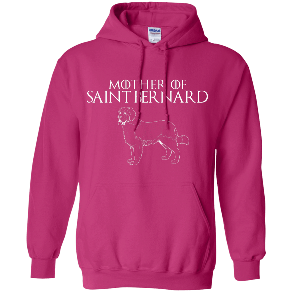 Mother Of Saint Bernard Pullover Hoodie