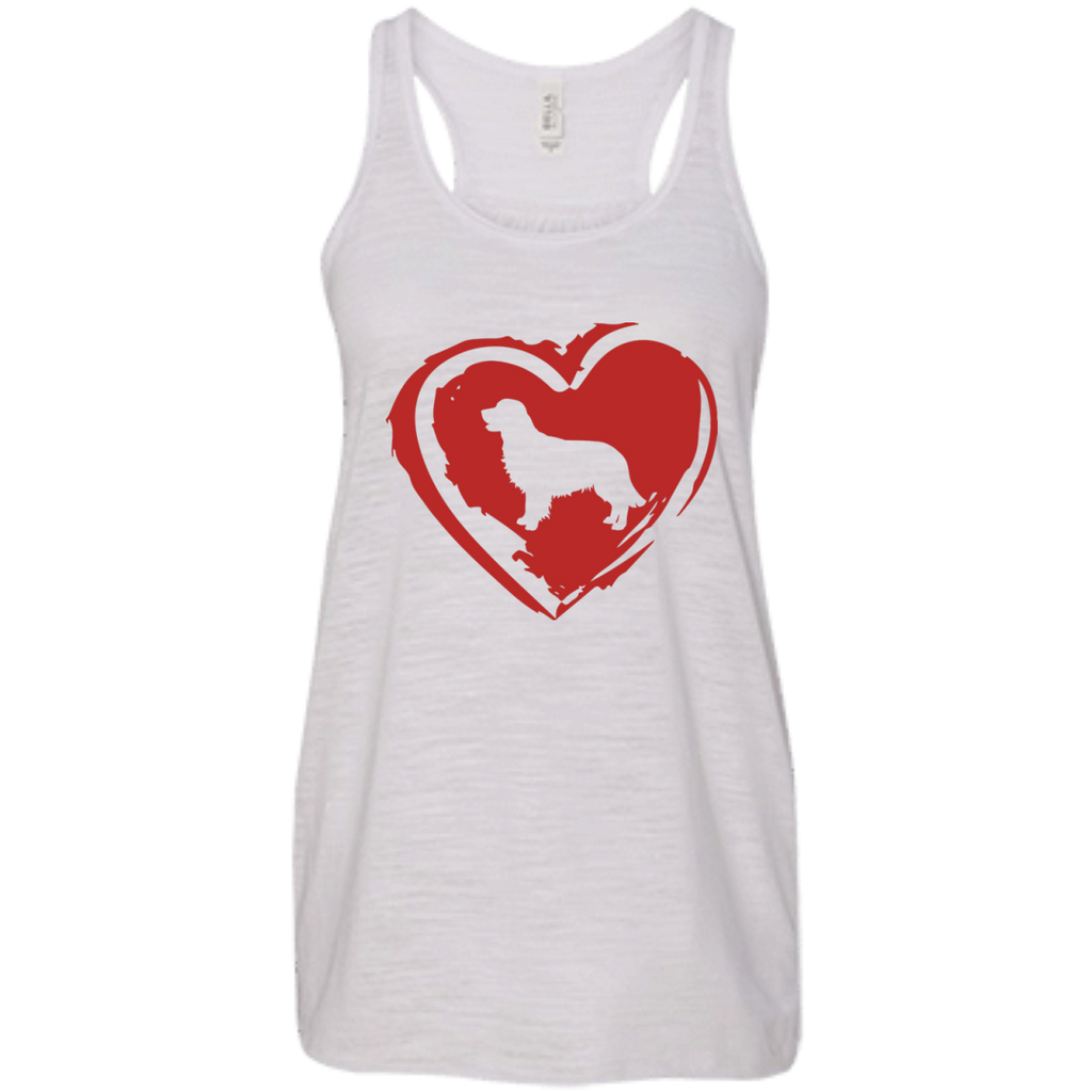 Love My Golden Retriever Racerback Tank