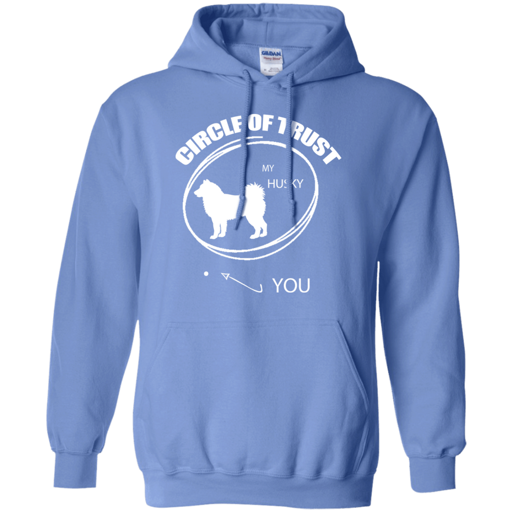 Siberian Husky Cirlcle of Trust Pullover Hoodie