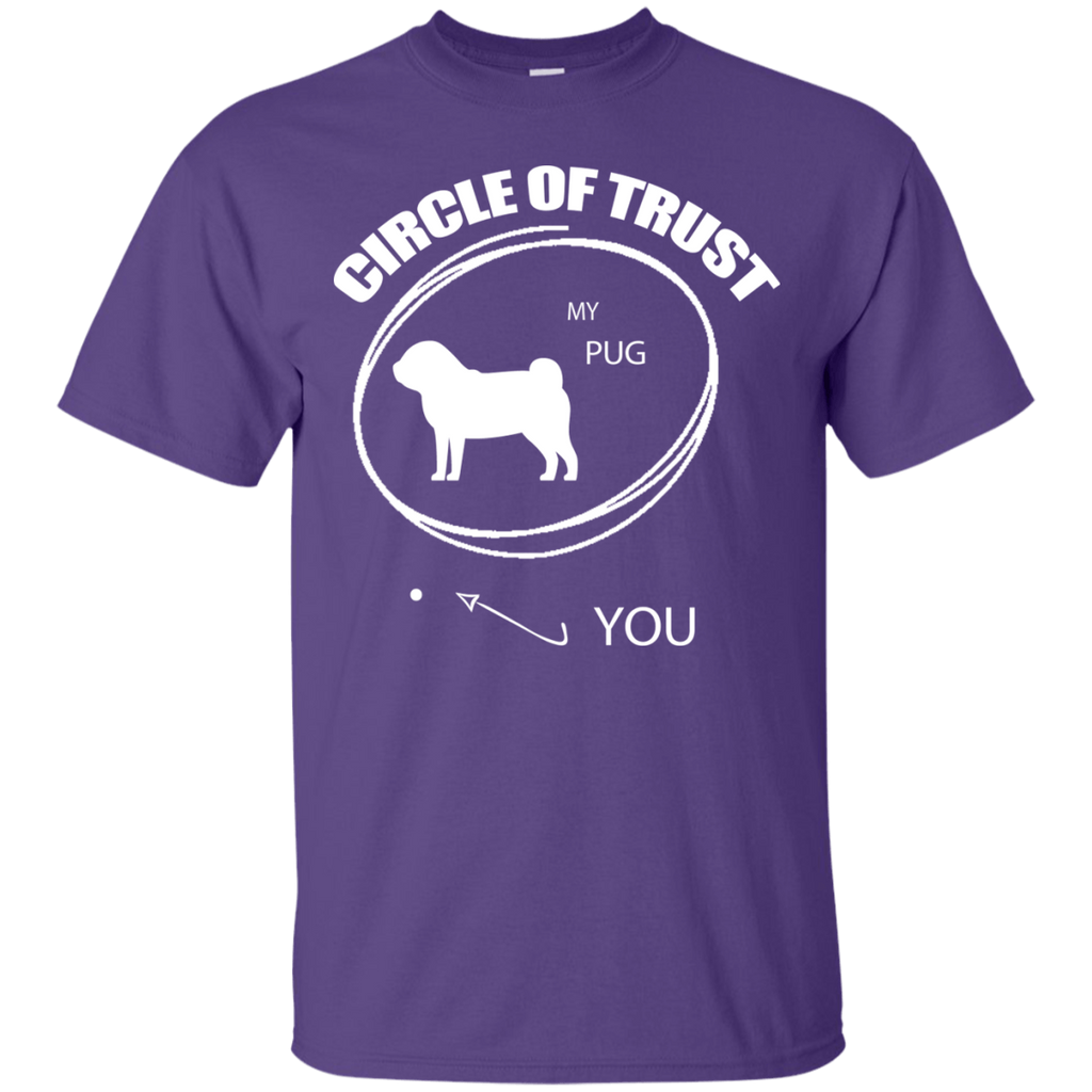 Pug Cirlcle of Trust Ultra Cotton T-Shirt