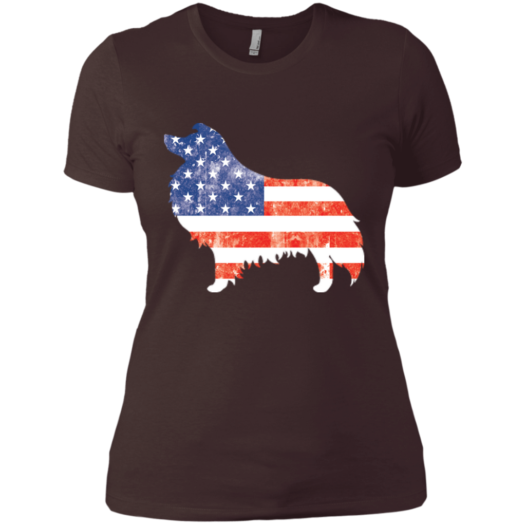 USA Sheltie Fitted Tee