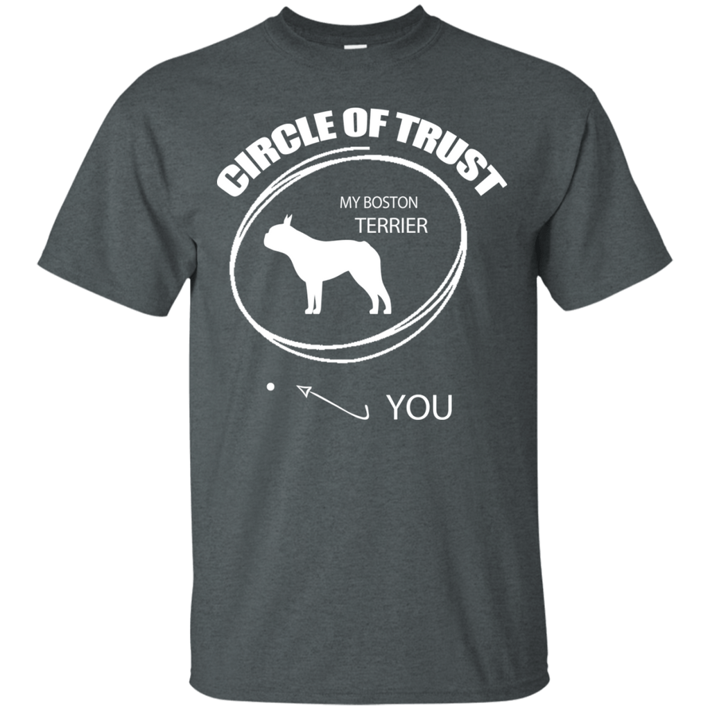 Boston Terrier Circle Of Trust Ultra Cotton T-Shirt
