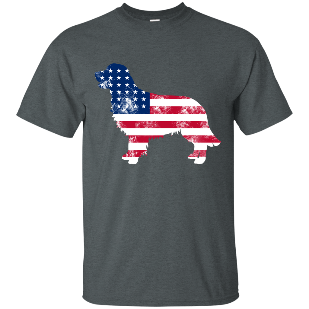 USA Golden Retriever Ultra Cotton T-Shirt