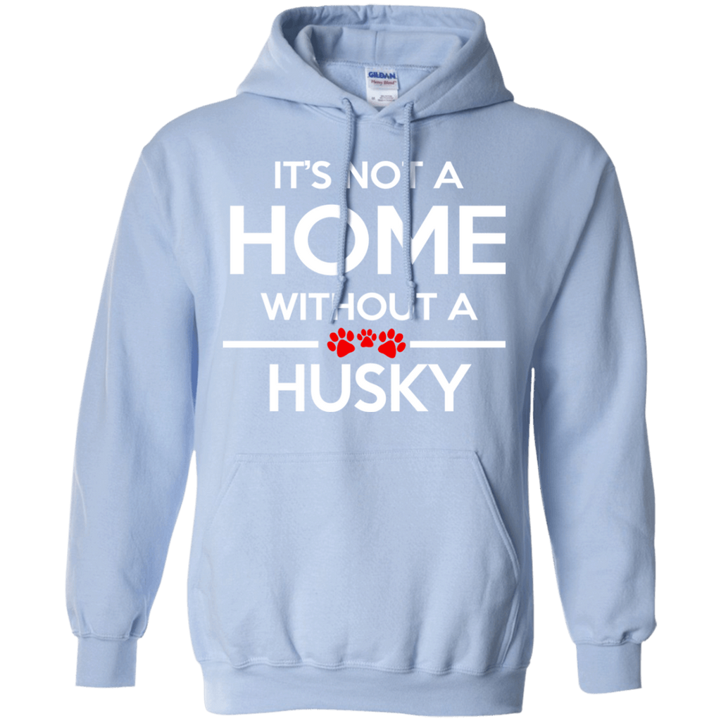Siberian Husky Home Pullover Hoodie