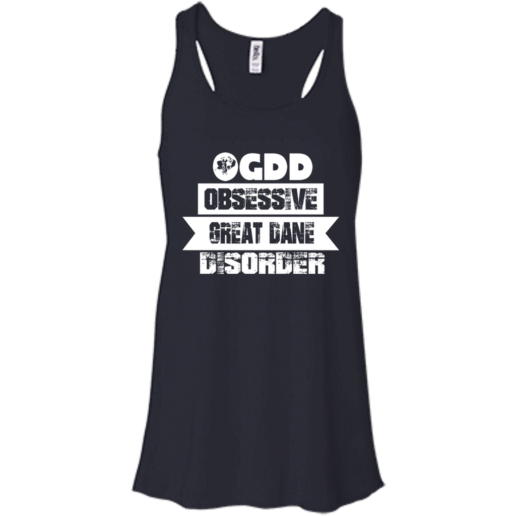Obsessive Great Dane Racerback Tank