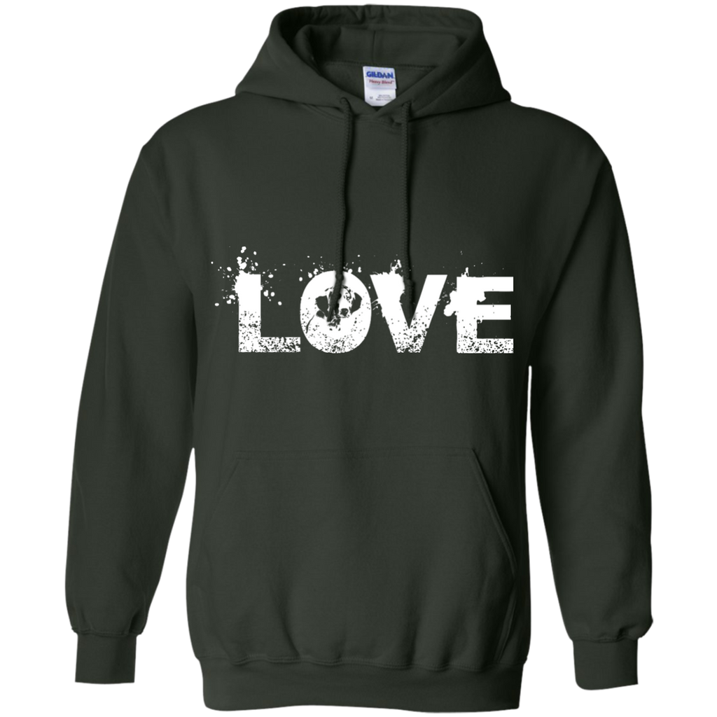 Love Great Dane Pullover Hoodie