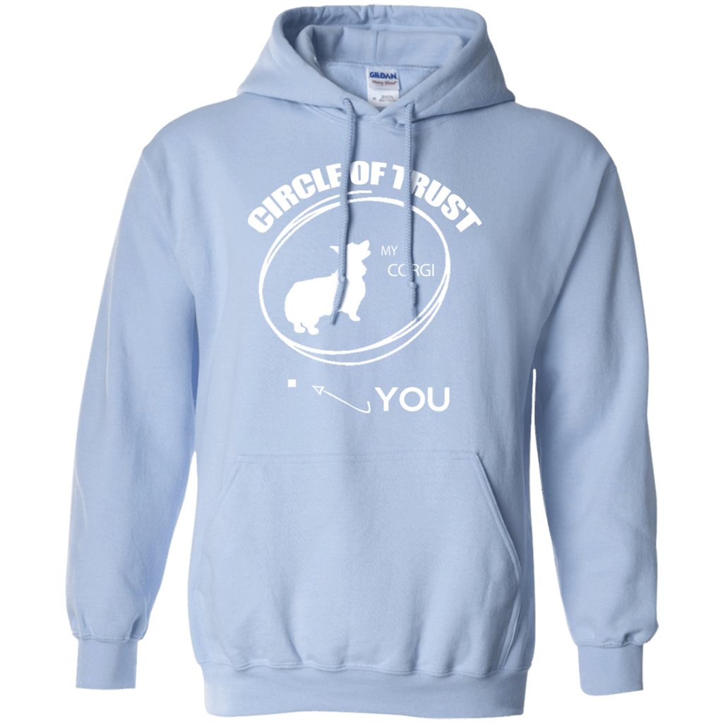 Welsh Corgi Cirlcle of Trust Pullover Hoodie