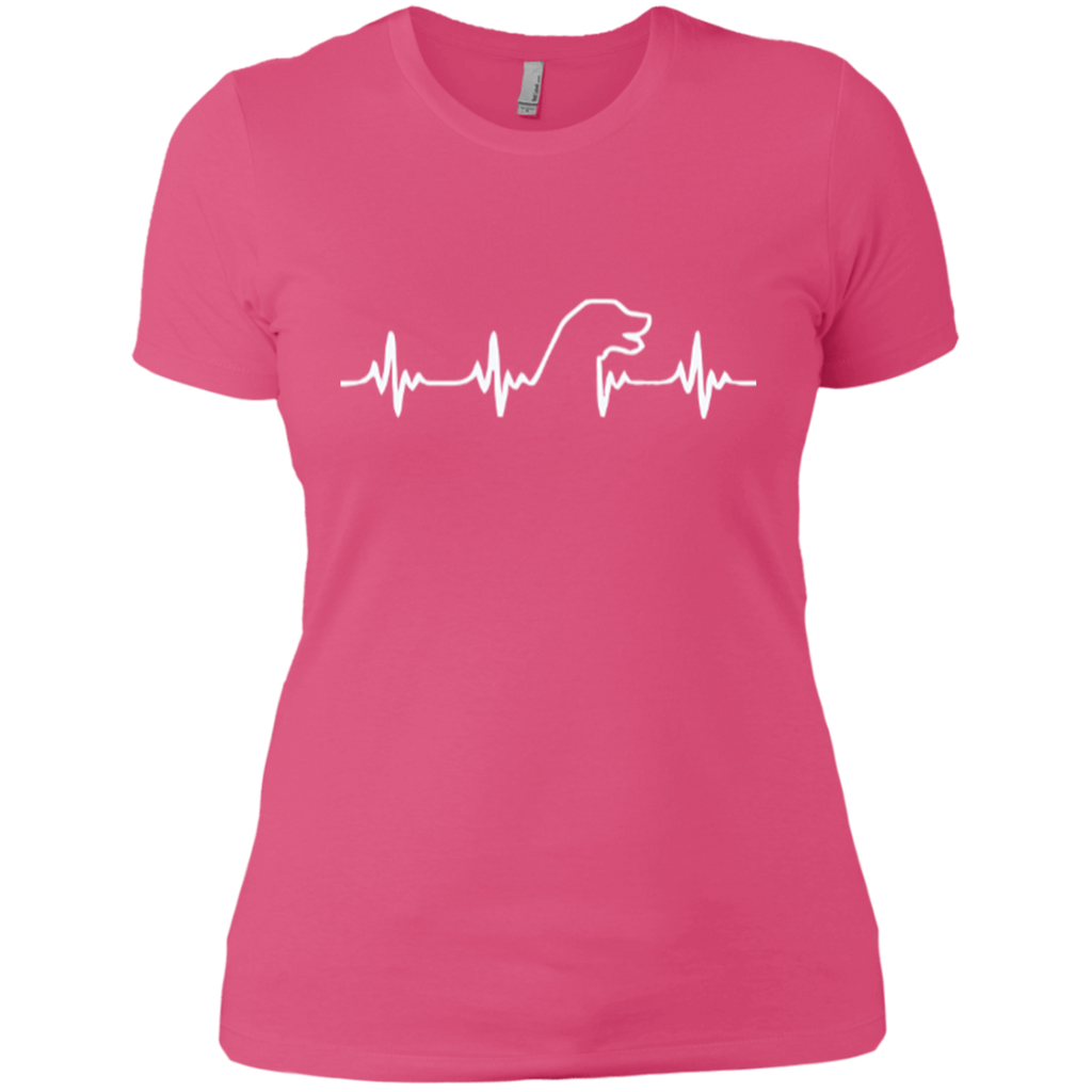 Lab Heartbeat Fitted Tee