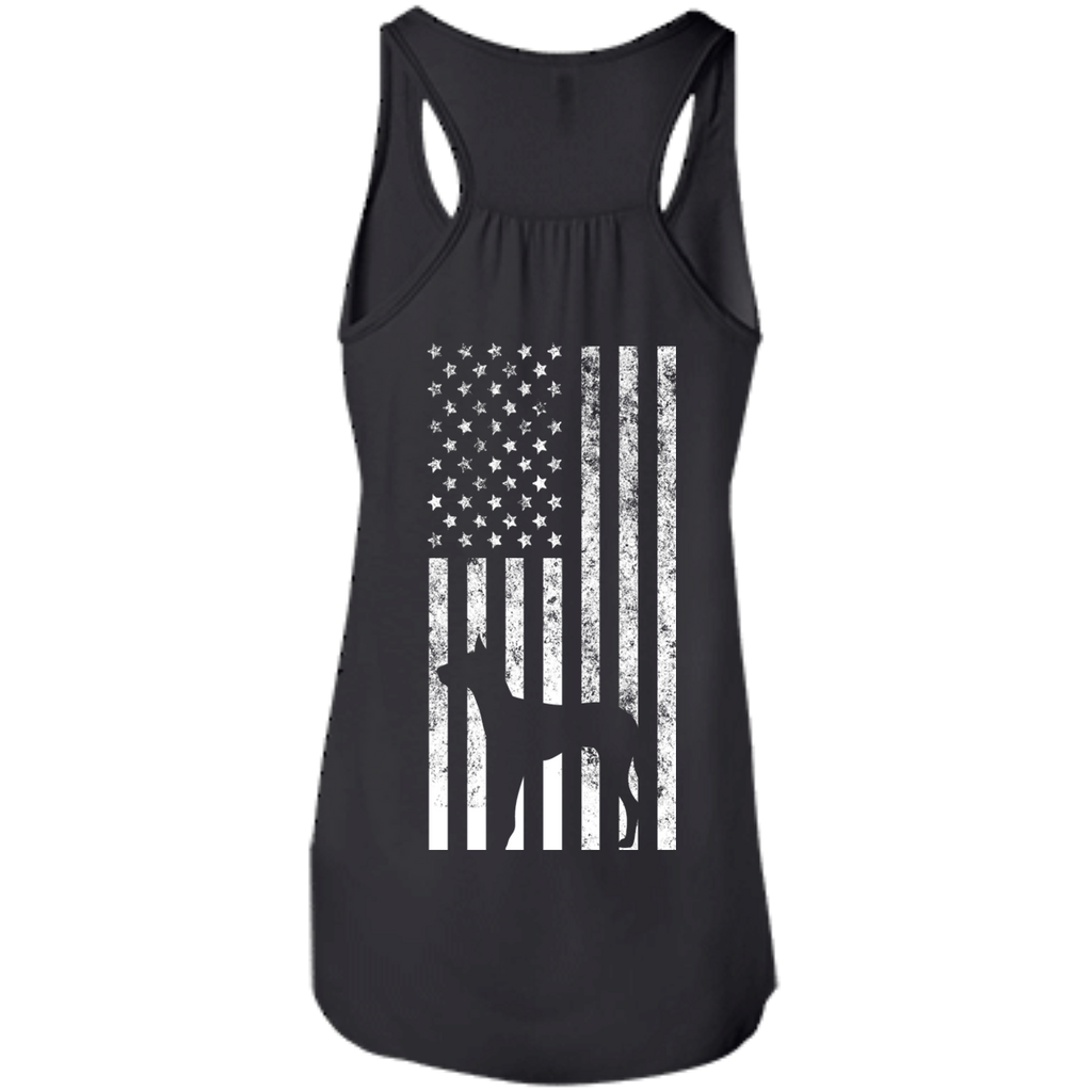 Back Dane Flag Racerback Tank