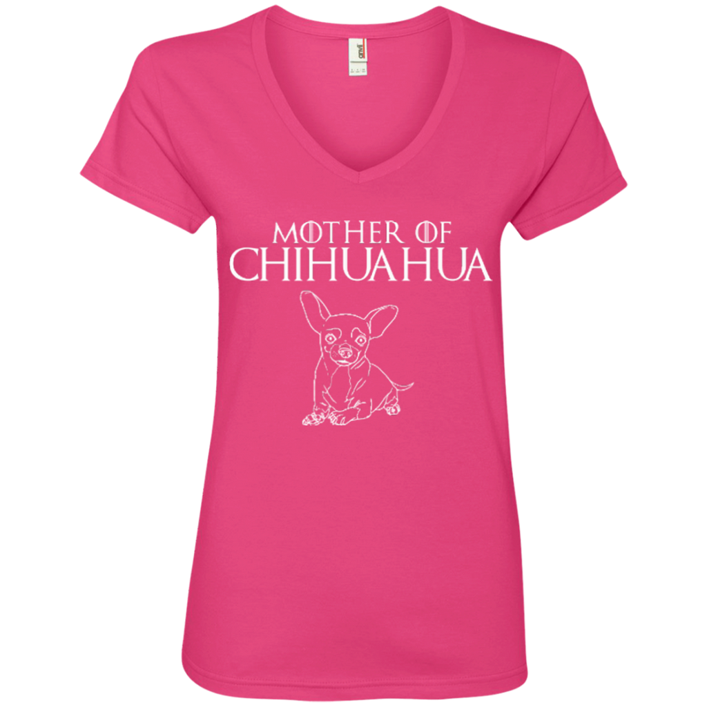 Mother Of Chi Ladies' V-Neck Tee