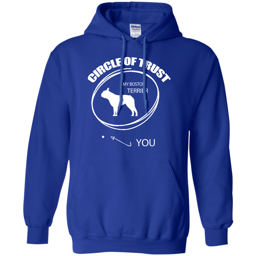 Boston Terrier Circle of Trust Pullover Hoodie