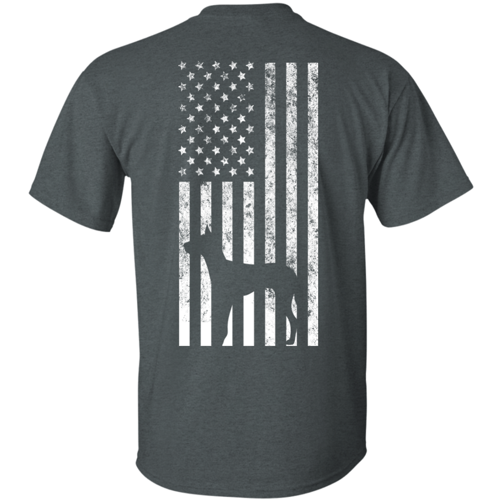 Back Dane Flag Ultra Cotton T-Shirt