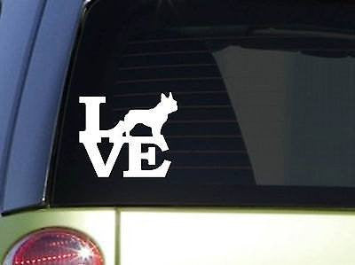 "Frenchie Love 6"" Sticker Decal French Bulldog Frenchy"