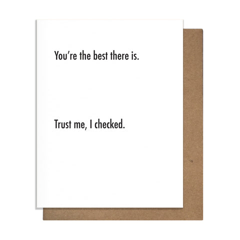Best There Is Card