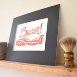 bacon kitchen art