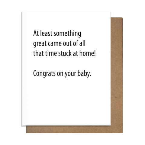 Home Baby Card