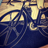 Washington Washington Washington Bike Print,  Prints, handmade, american made - The Matt Butler
