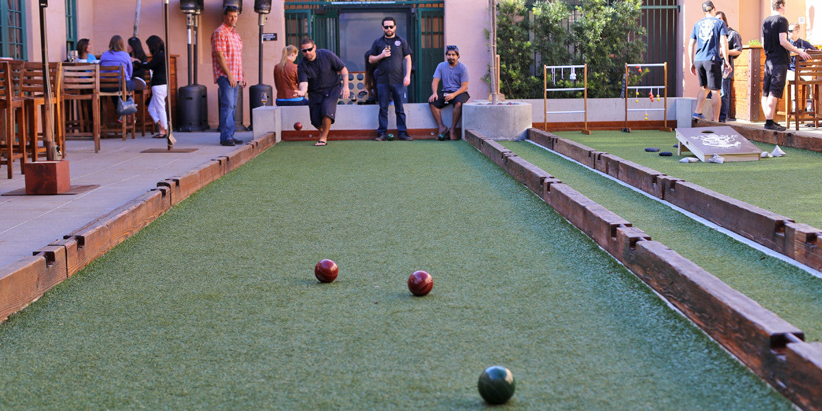 Outdoor Games Are Making Their Way Into Bars