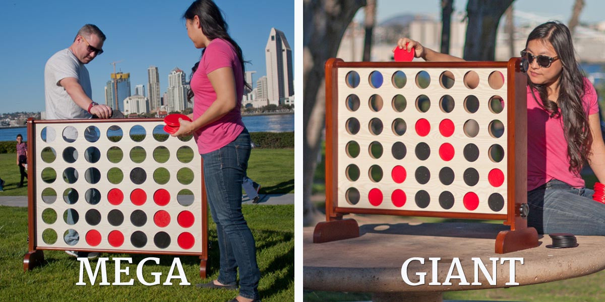 Big News! Our NEW Giant & Mega 4 in a Row games are here!