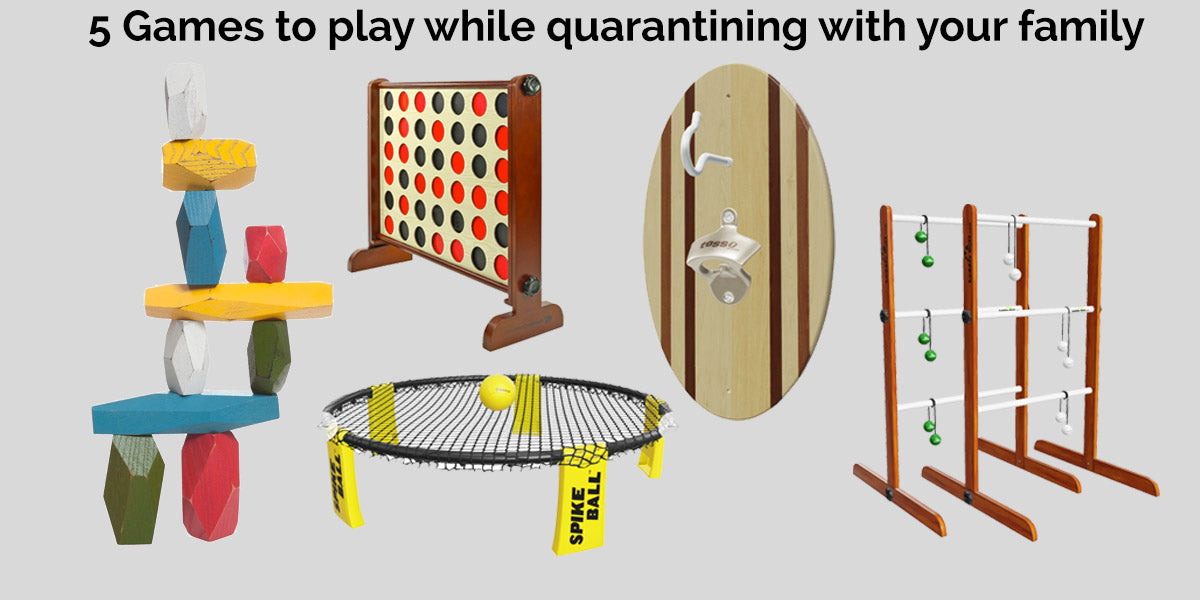 5 Games to play while quarantining with your family