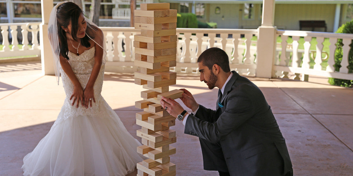 6 Outdoor games to play at your wedding