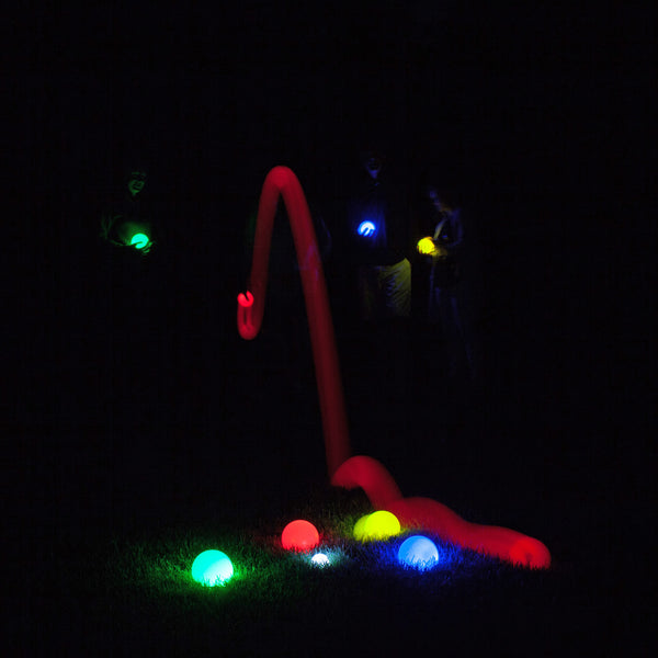 LED Glow in the Dark Bocce Ball Set