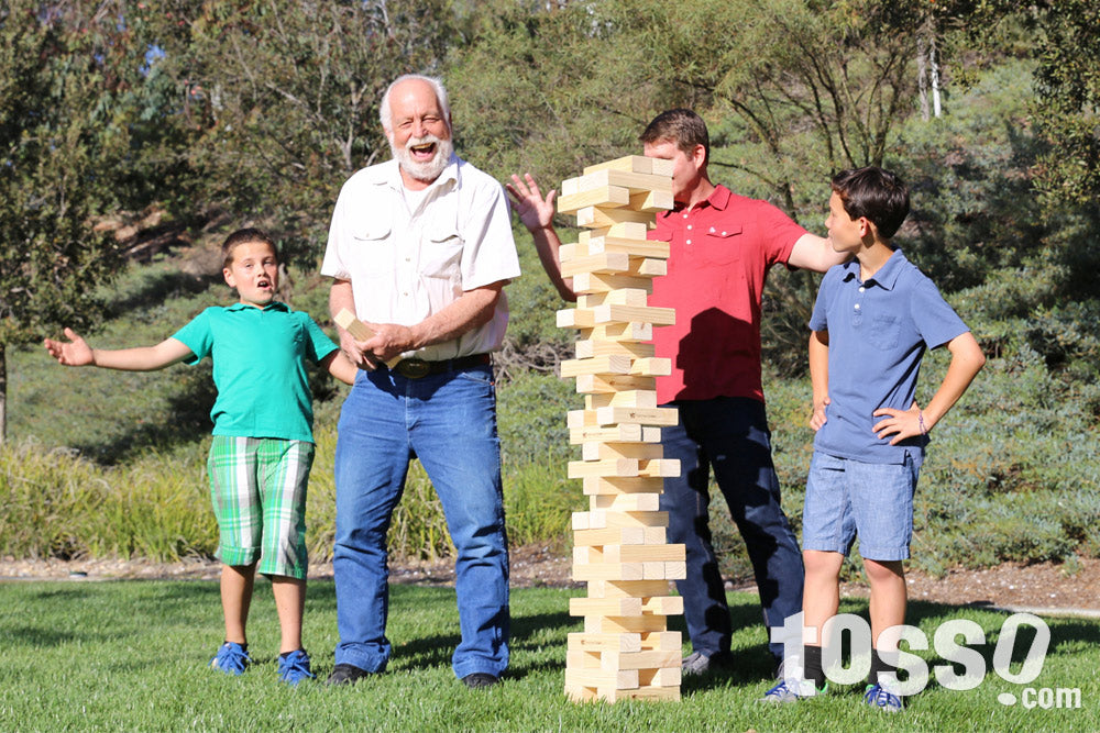 Father's Day Gifts- Giant Tumble Tower