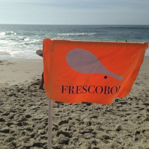 frescobol-sign