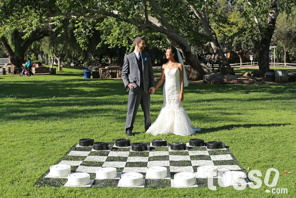 Giant Checkers - Wedding Games