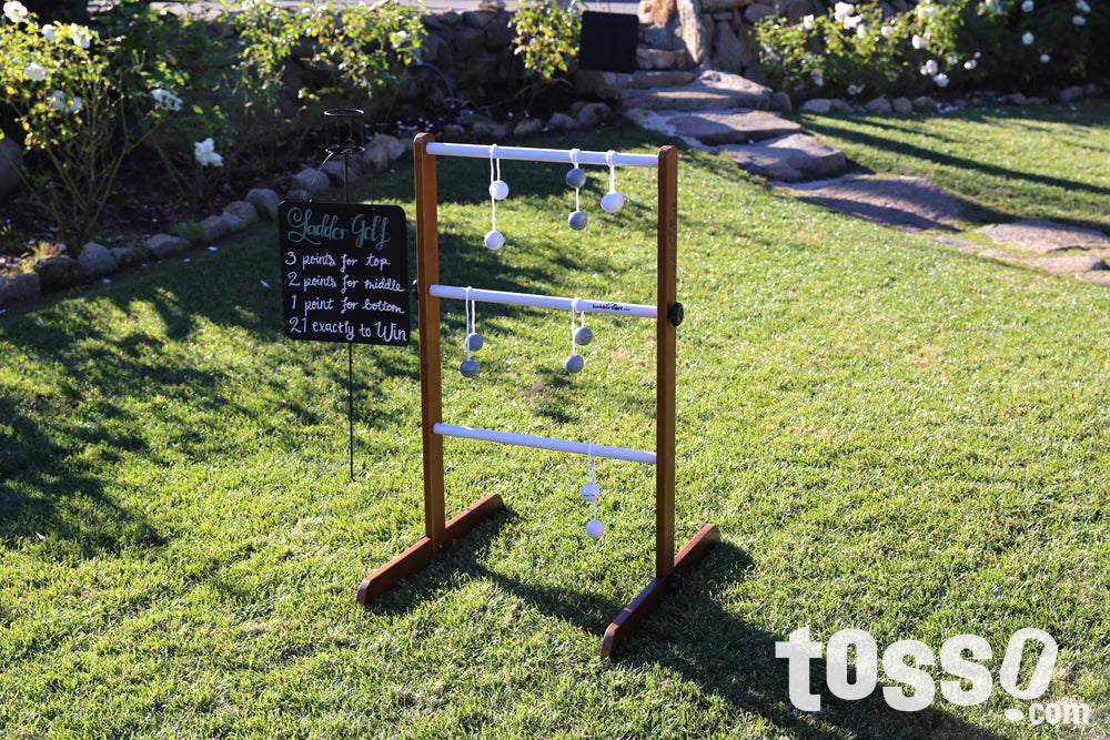 Outdoor games for weddings - Ladder Golf