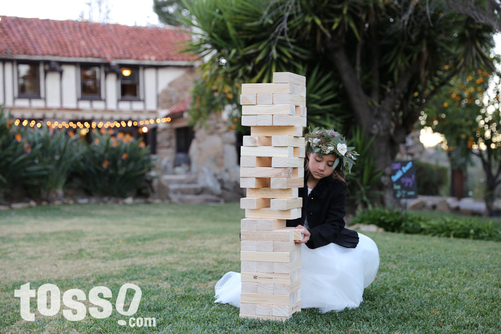 Wedding Lawn Games - Giant Tumble Tower