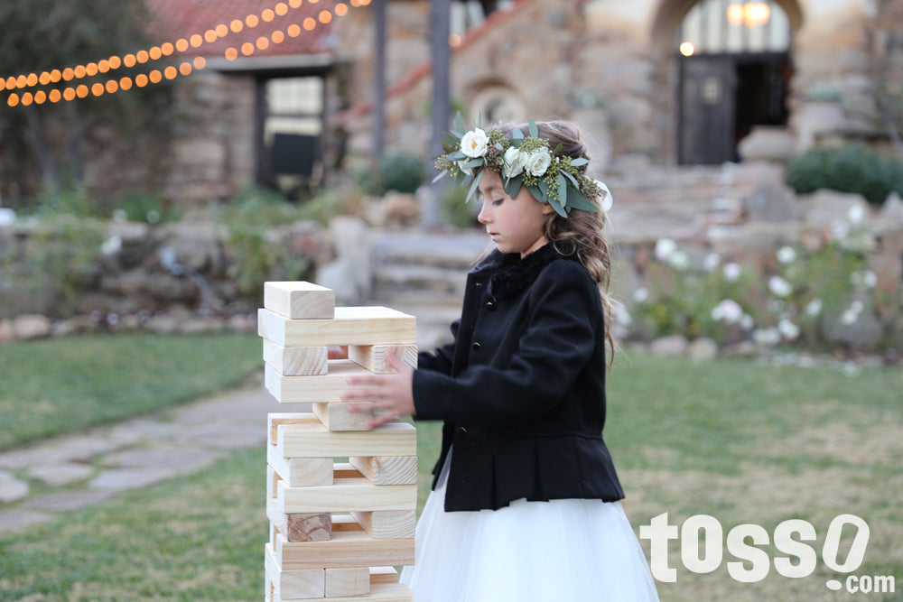 Wedding Games - Tumble Tower