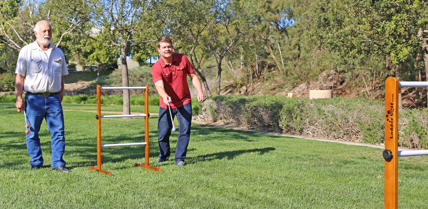 Ladder Golf Tournament Game
