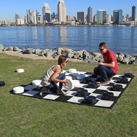 Giant Checkers Set