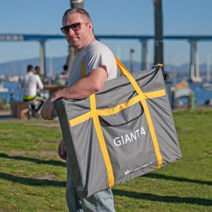 Giant 4 in row game with FREE Carrying Bag