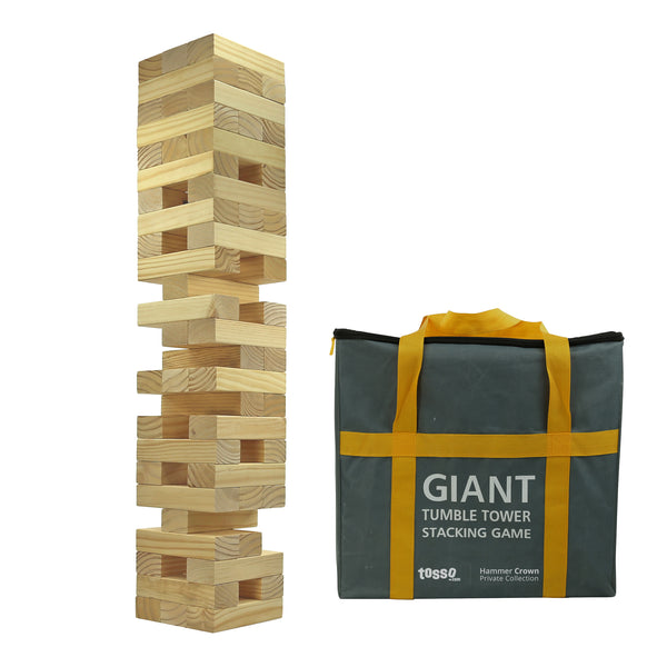 Hammer Crown Giant Tumble Tower V2.0 XXL with FREE bonus block bottle opener