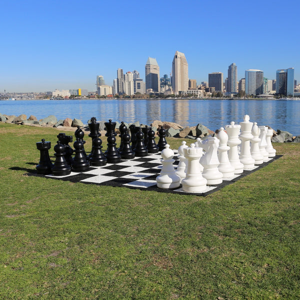 "Giant Chess Set (25"" King)"