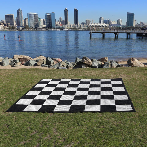 Commercial Grade Giant Chess & Checkers Board