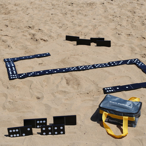 Giant Wooden Dominoes (Black & White)