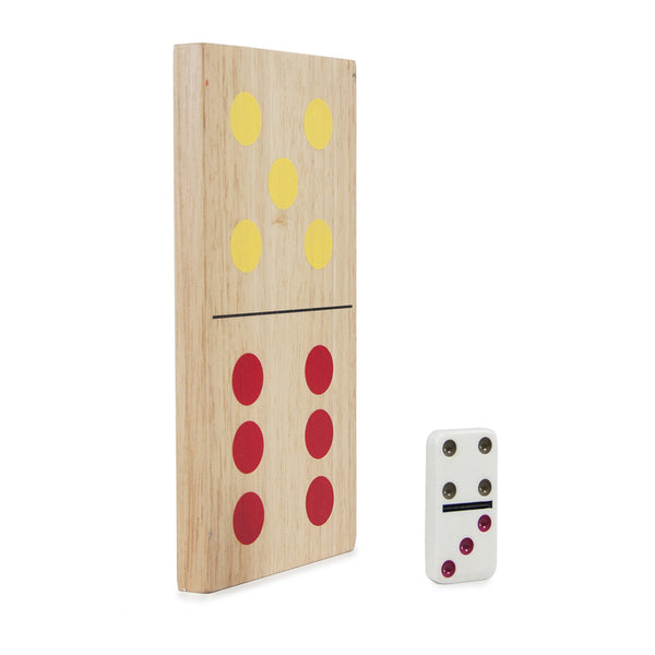 Giant Wooden Dominoes (Color Pips)