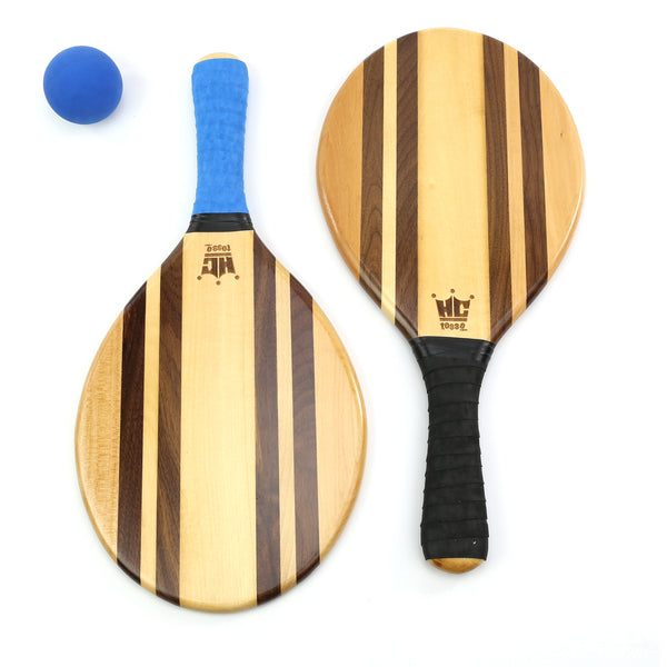 Frescobol Paddle Set (Beach Stripes)