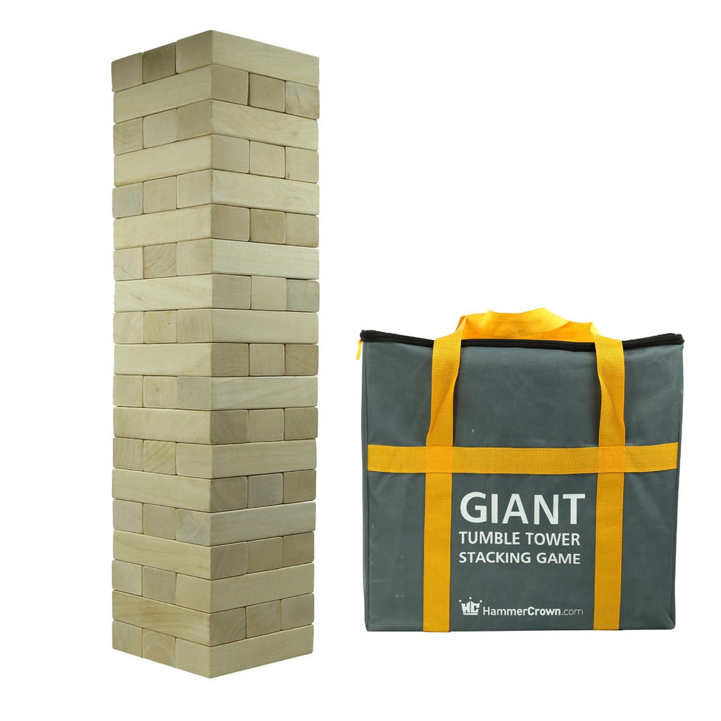 Giant Tumble Tower (Hardwood)