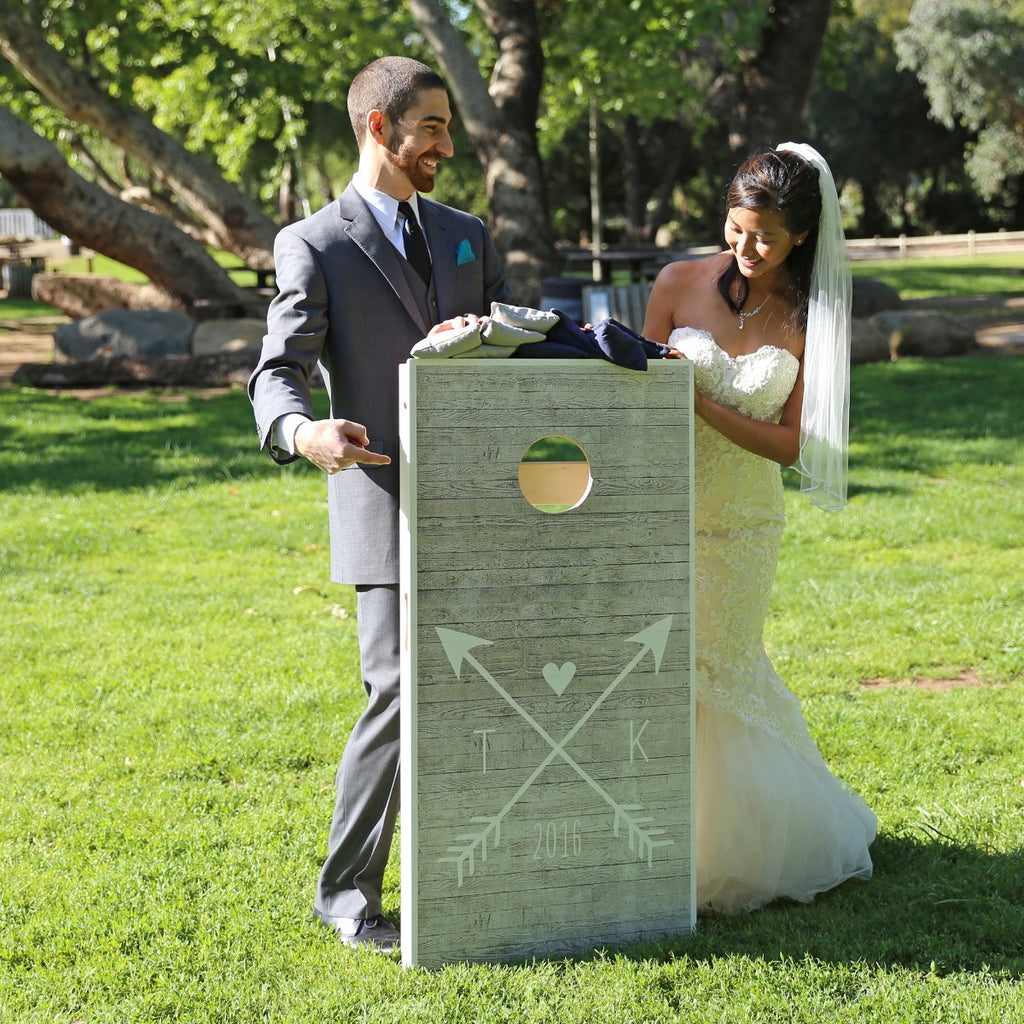 Wedding Cornhole Boards | Tosso.com