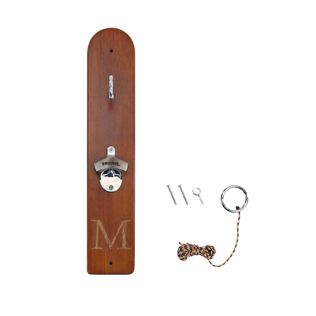 Personalized Hook And Ring Game With Bottle Opener And