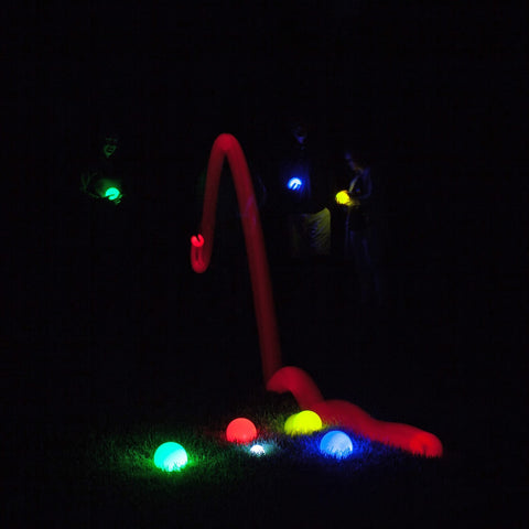 Lighted LED Bocce Ball Set