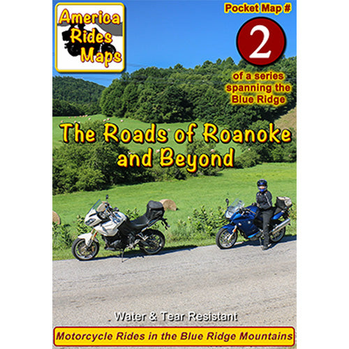 Map #2 -- The Roads Of Roanoke and Beyond