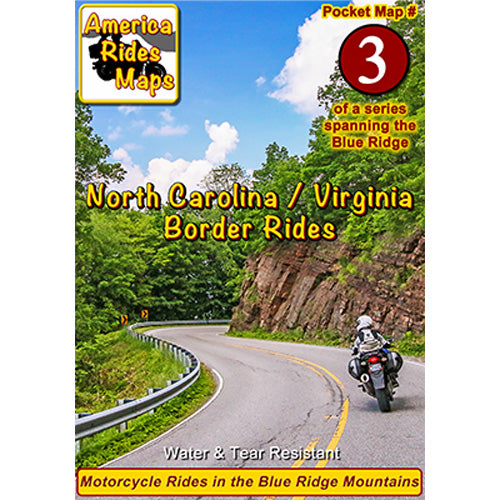 Map #3 -- North Carolina / Virginia Border Rides